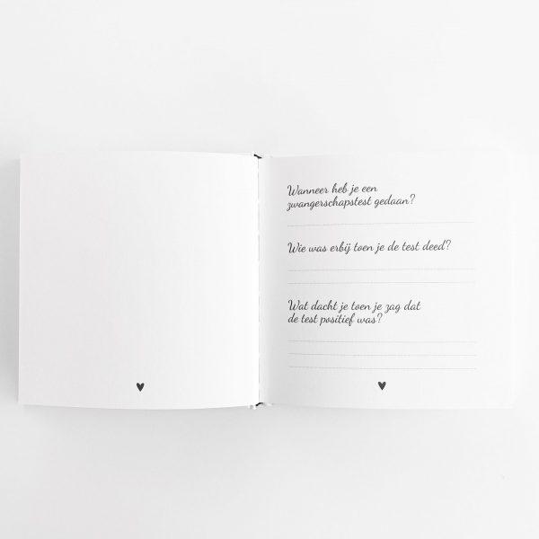Echo fotoboek vragen invulpagina binnenkant