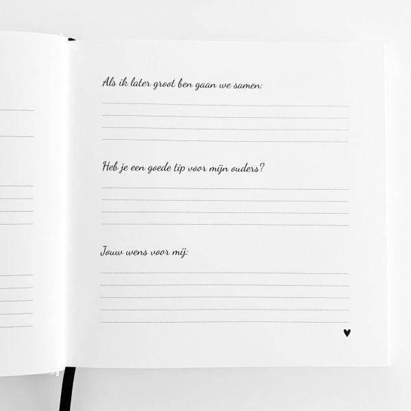 Kraambezoekboek vragen