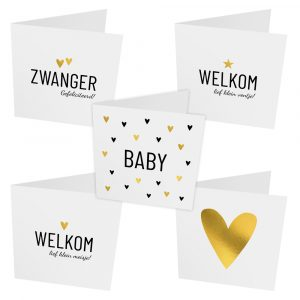 Lifestyle2Love kaartenset baby